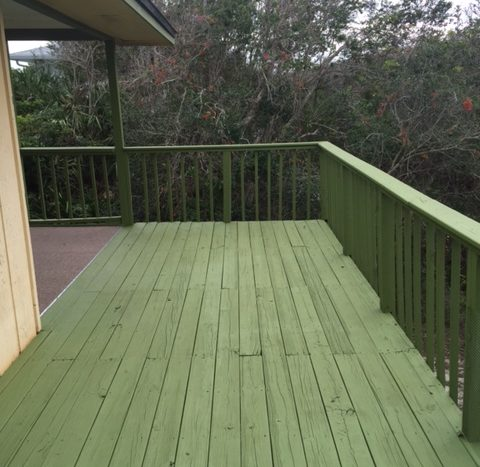 Pelican Way - Rear Exterior Deck